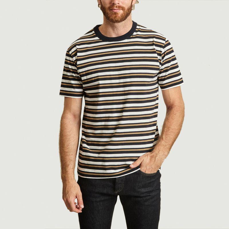 T-Shirt Mate Rayures - Loreak Mendian