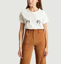 T-Shirt En Coton Nipples