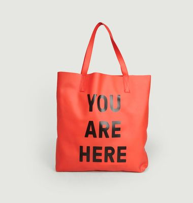 Sac Cabas You Are Here