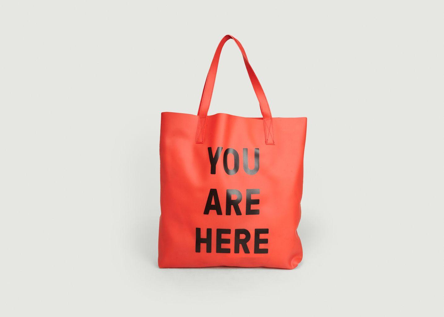 Sac Cabas You Are Here - Loreak Mendian