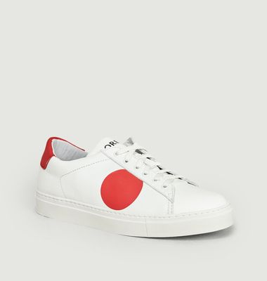 Sneakers Dot Rouge