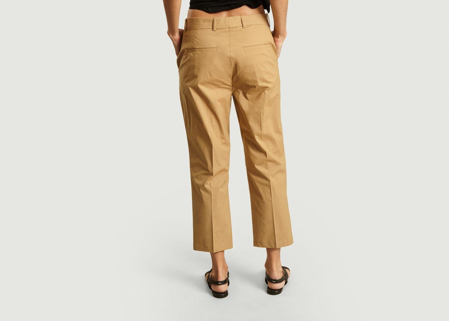 Pantalon Amelia en popeline de coton - Loreak Mendian