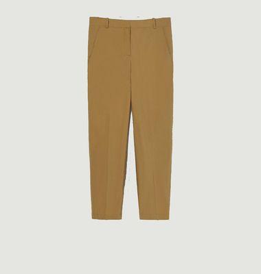 Pantalon Amelia en popeline de coton