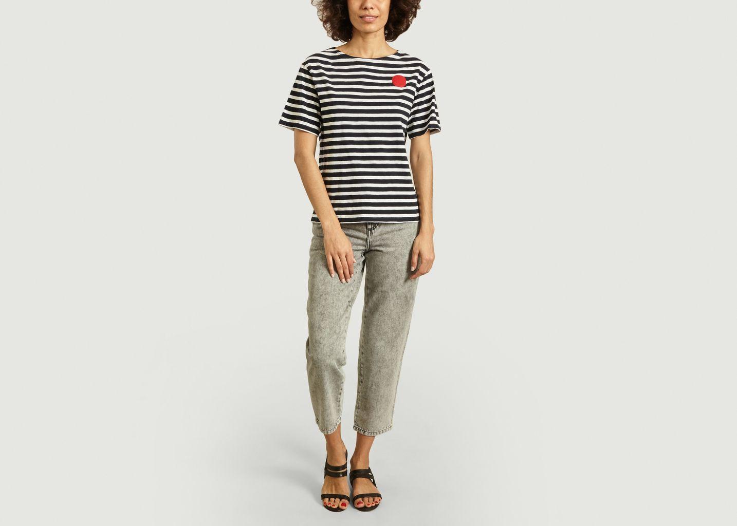 T-shirt marinière Dot - Loreak Mendian