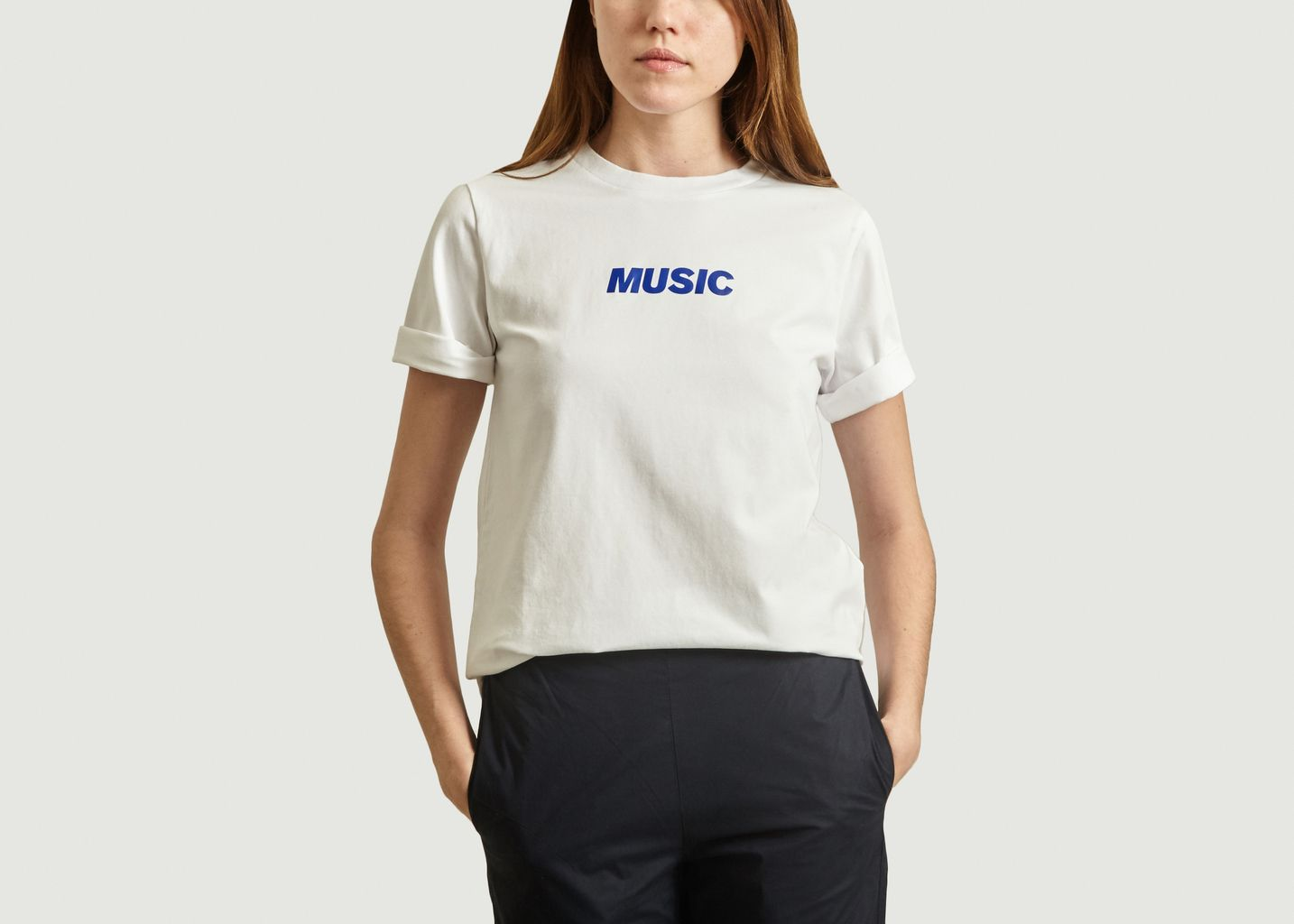 T-Shirt Imprimé Music - Loreak Mendian