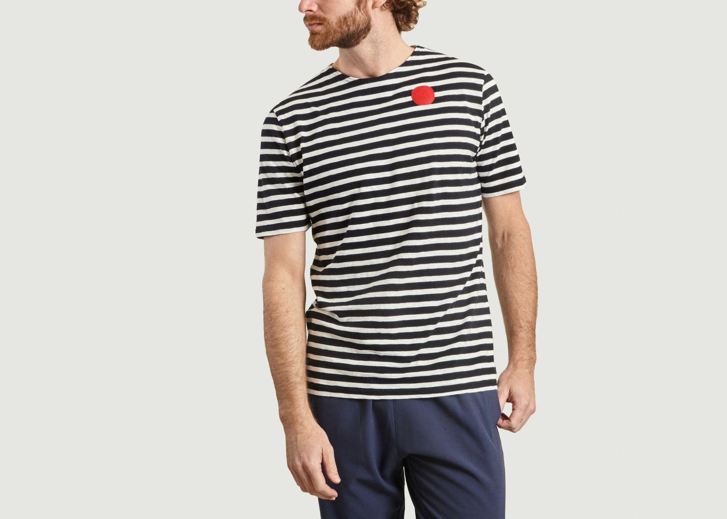 T-shirt rayé Dot - Loreak Mendian