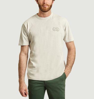 T-shirt Together imprimé smiley