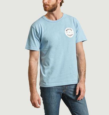 T-shirt Label imprimé disque