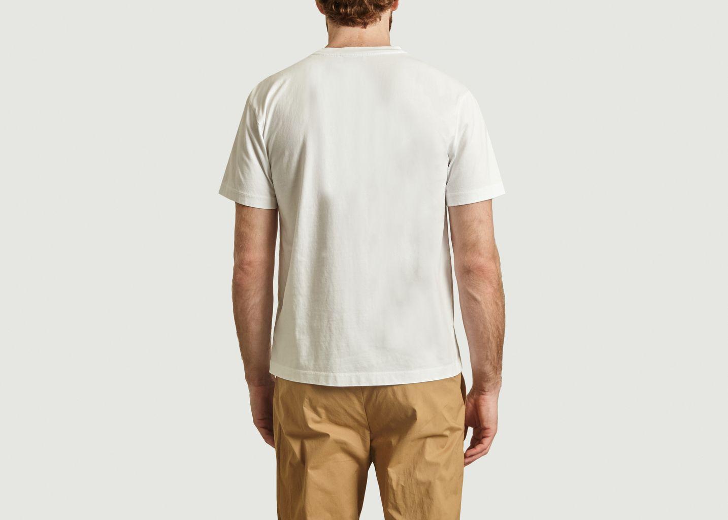 T-shirt Lau imprimé graphique - Loreak Mendian