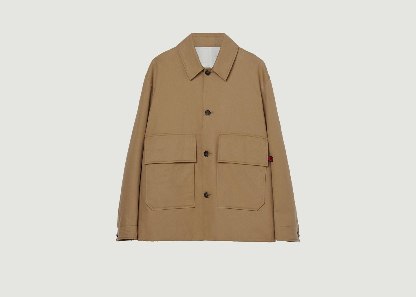 Veste oversize à poches en coton Lega Ponza - Loreak Mendian