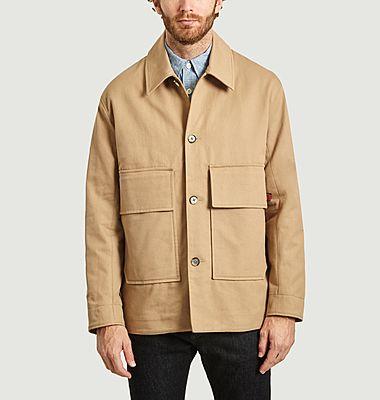 Veste oversize à poches en coton Lega Ponza