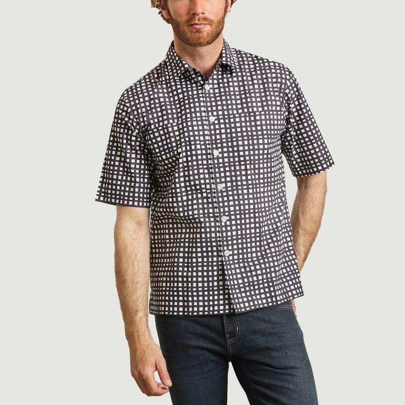 Chemise manches courtes à carreaux Maui - Loreak Mendian