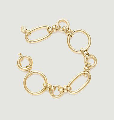 Bracelet Charlotte en laiton doré