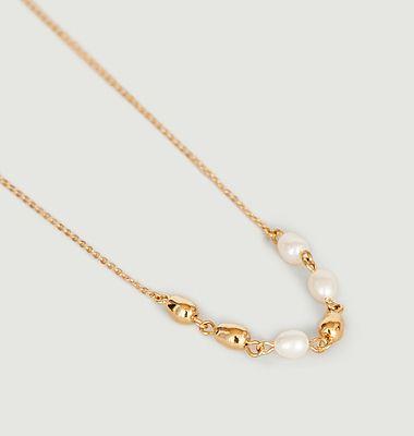 Collier chaîne avec perles Lise