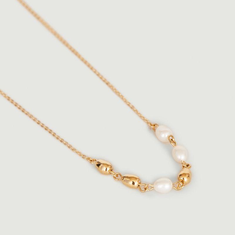 Collier chaîne avec perles Lise - Louise Damas