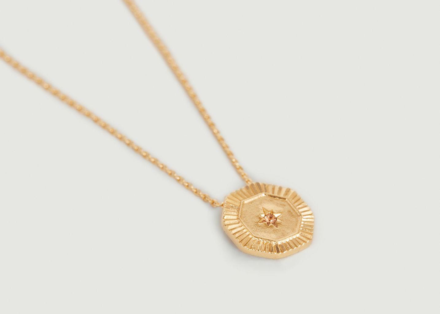Collier médaille étincelante Shéhérazade - Louise Damas