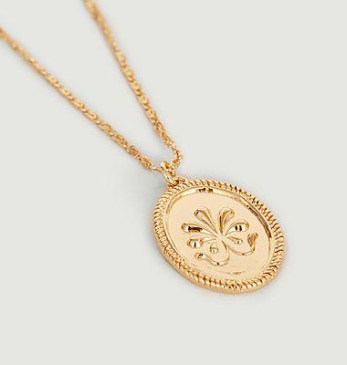 Collier médaille délicate Shéhérazade