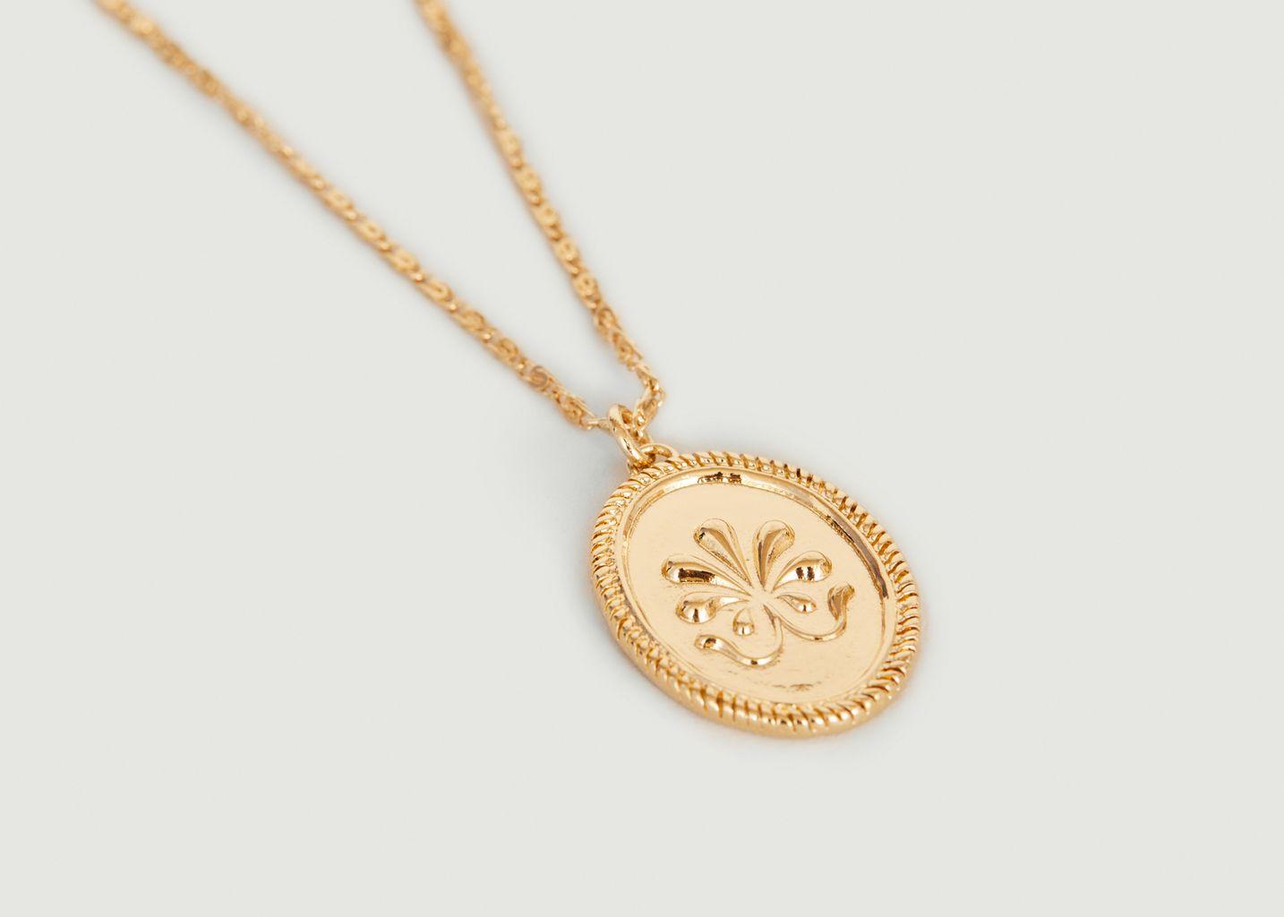 Collier médaille délicate Shéhérazade - Louise Damas