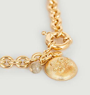 Collier chaîne avec pendentif Denise