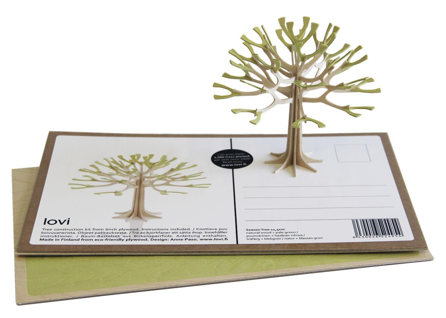 Carte Postale Arbre - Lovi