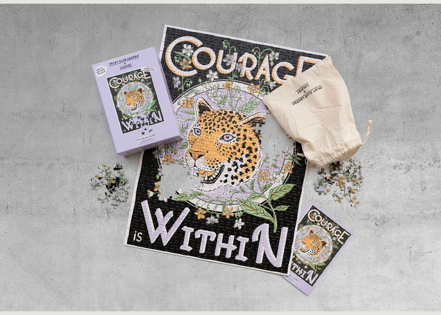 Puzzle Courage Is Within - Luckies