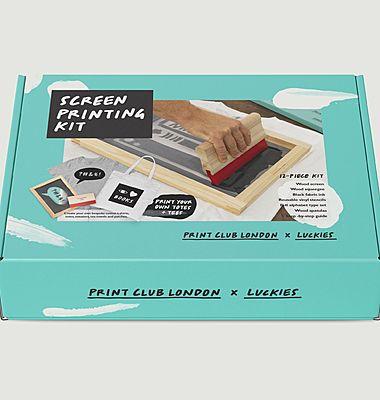 Kit de sérigraphie pour débutant