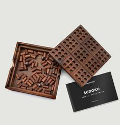 Sudoku en bois  Luckies