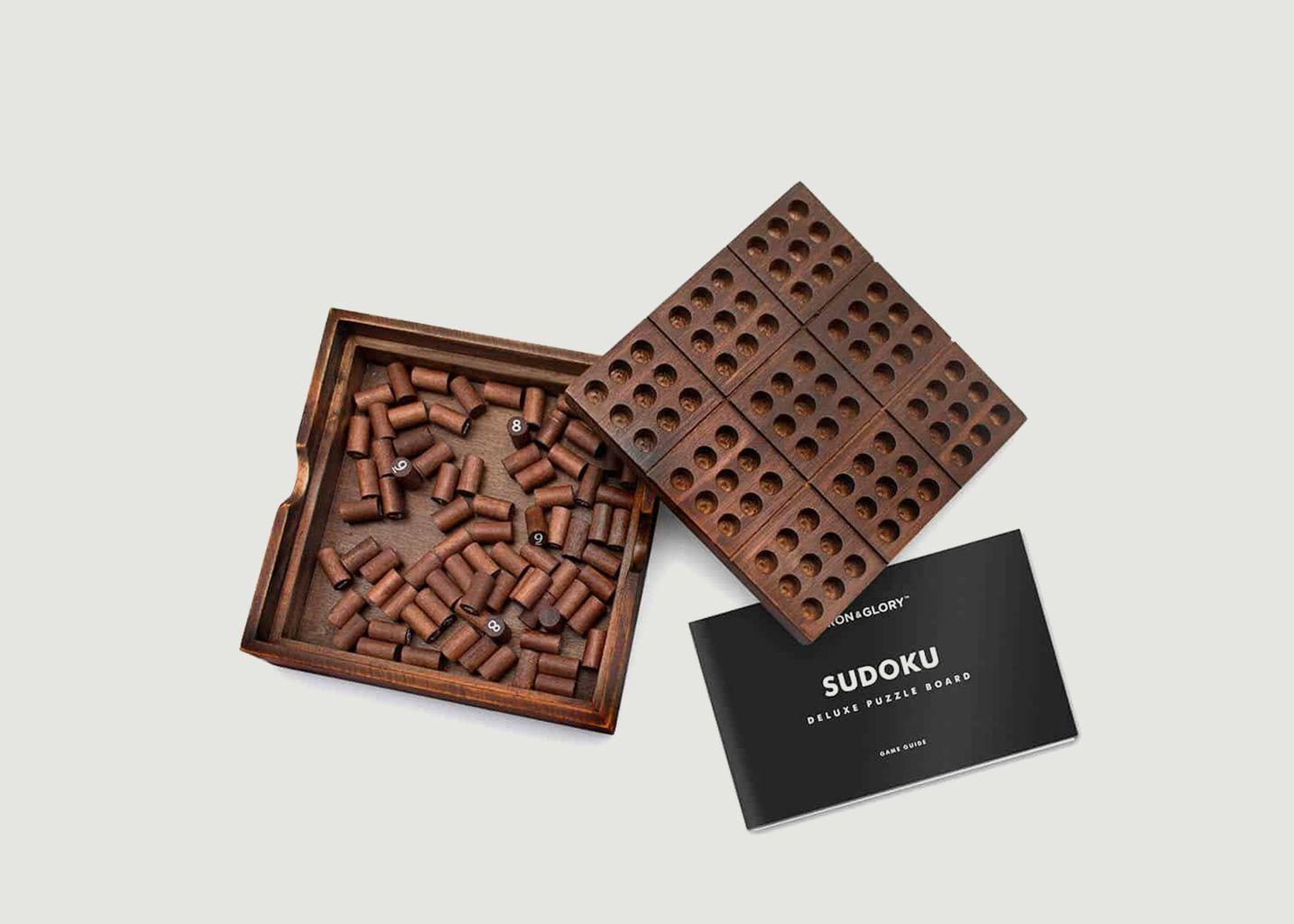 Sudoku en bois  - Luckies