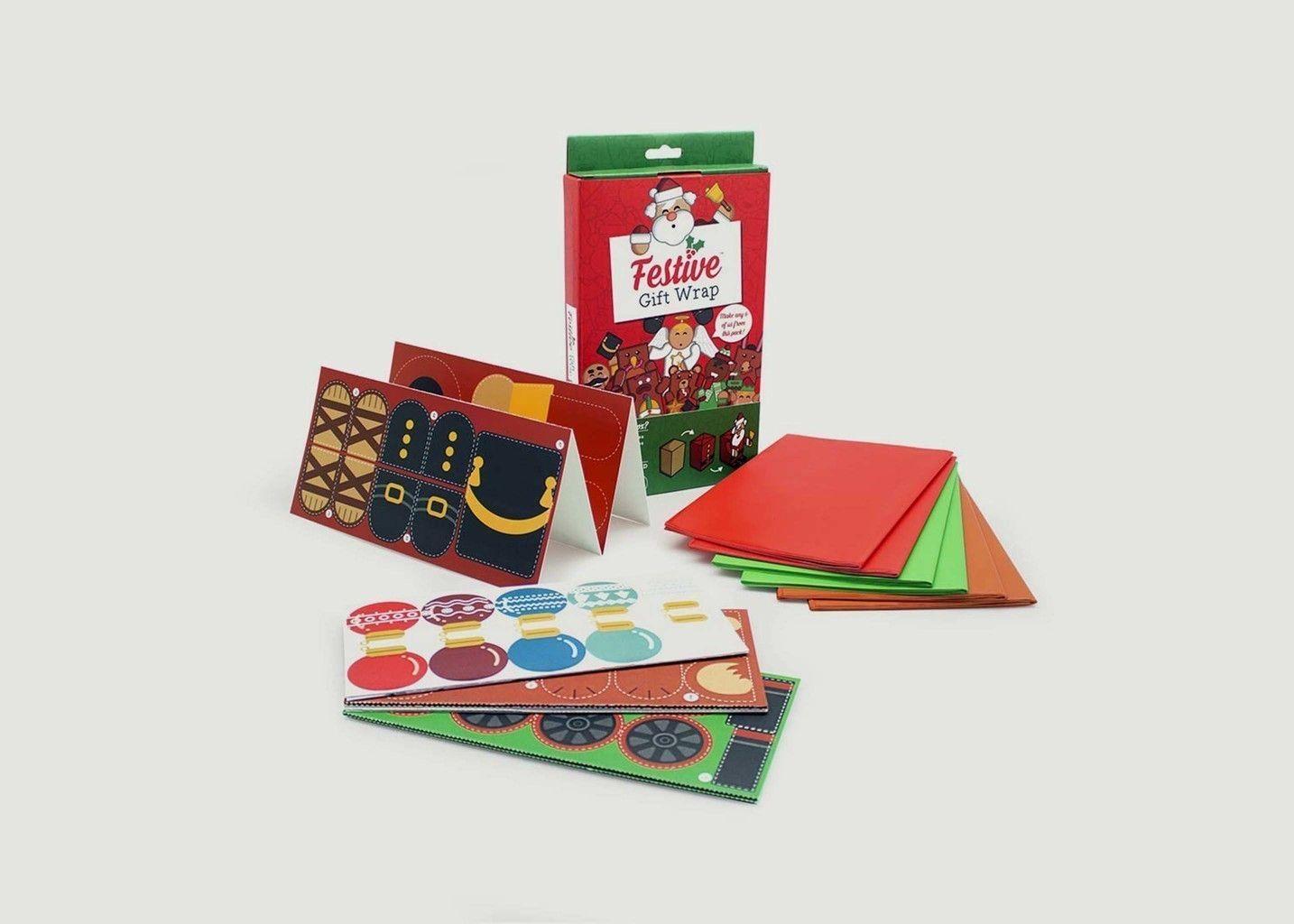 Papier Cadeau Festif - Luckies