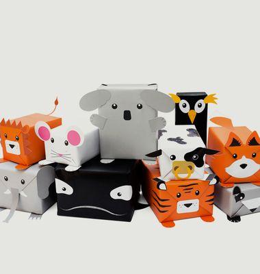 Papier Cadeau Animal
