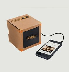 Transportable Smartphone Speaker