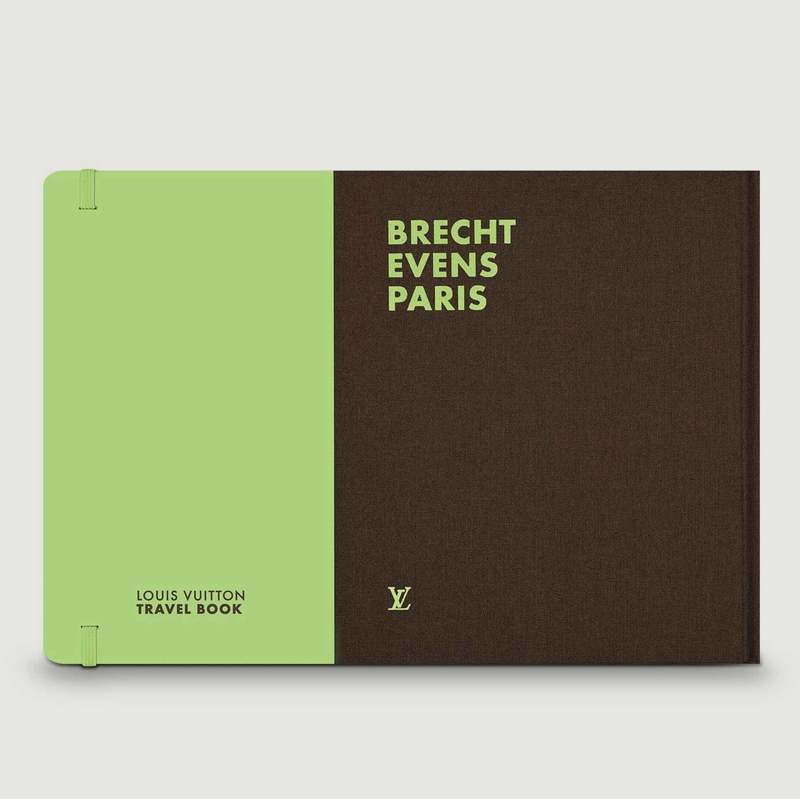 Livre Travel Book Paris Brecht Events - Louis Vuitton Travel Book