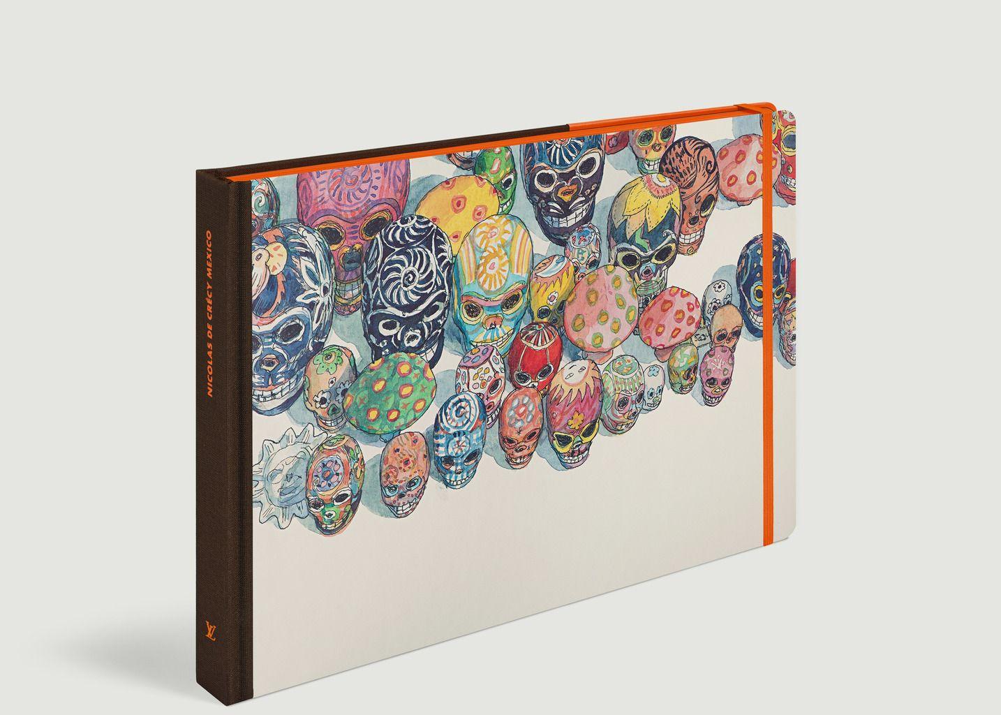 Livre Travel Book Mexique - Louis Vuitton Travel Book