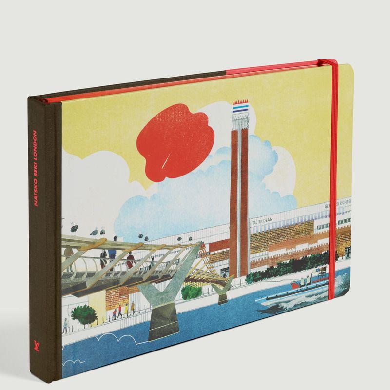 Livre Travel Book Londres - Louis Vuitton Travel Book