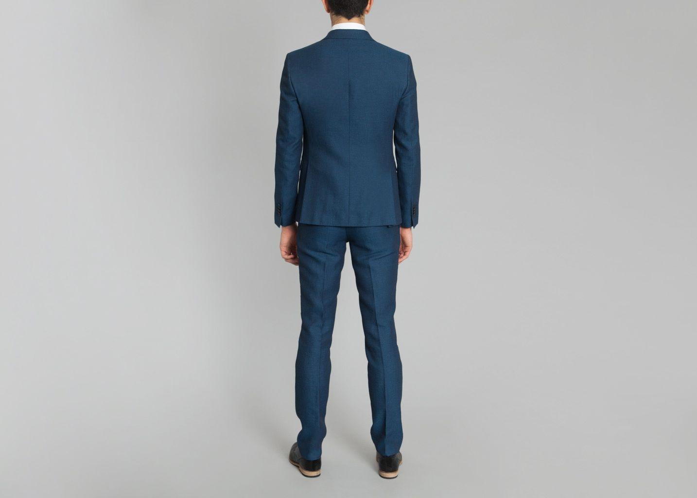 costume guillaume ly adams bleu canard l 39 exception. Black Bedroom Furniture Sets. Home Design Ideas