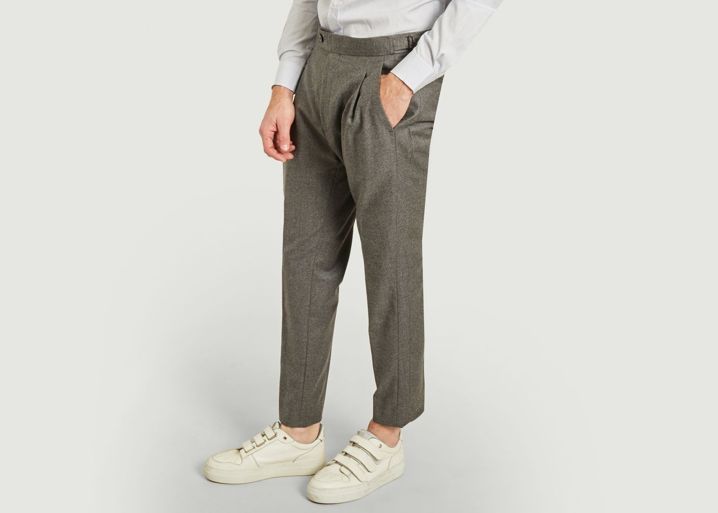 Pantalon pinces Alex - Ly Adams