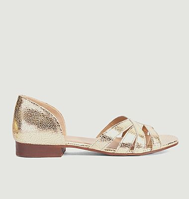 Sandales plates Lou B