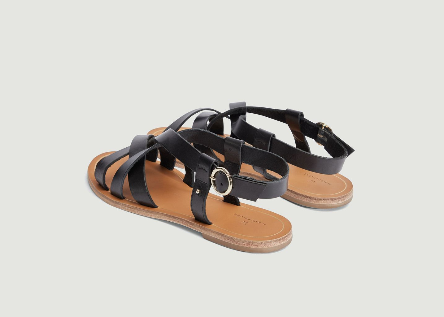 Sandales plates Lisa - M. Moustache