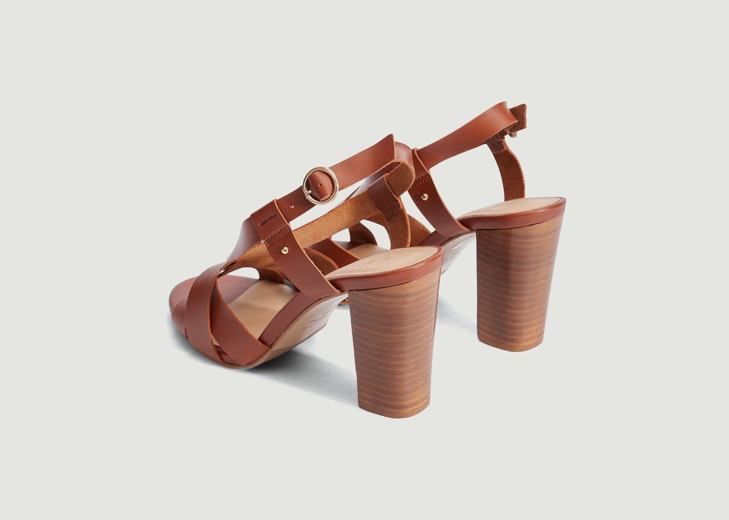 Sandales à talons hauts Lisa H - M. Moustache