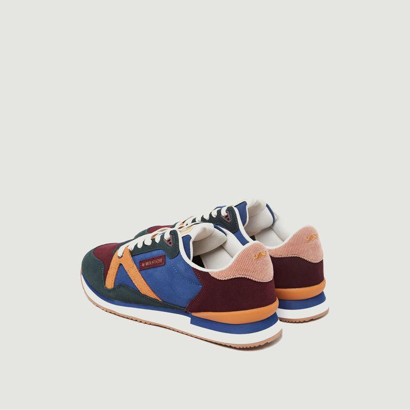 Sneakers basses de running bi-matière André - M. Moustache