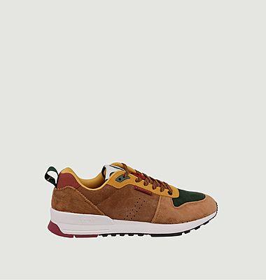 Sneakers basses de running bi-matière Daniel