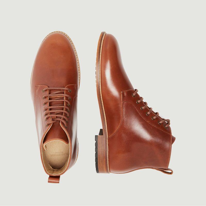 Desert boots en cuir pull-up Antoine - M. Moustache