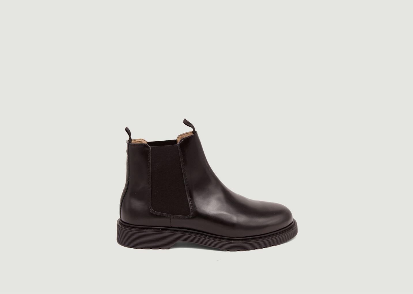 Chelsea boots en cuir Axel - M. Moustache