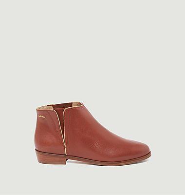 Chelsea boots en cuir Jeanne B