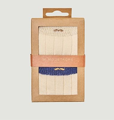 Pack de 2 paires de chaussettes pailletées montagne