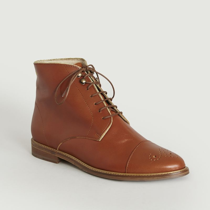 Bottines Lucienne - M. Moustache