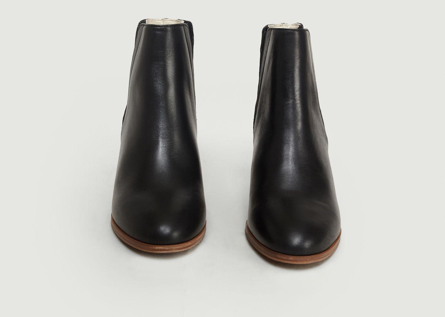809d3f0820b Boots Jeanne H Noir M. Moustache