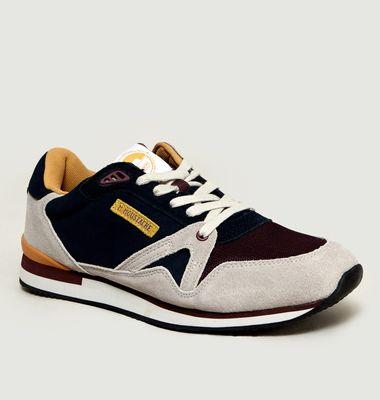 Sneakers André en Mesh et Suède