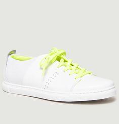 Sneakers Bi-Matière René