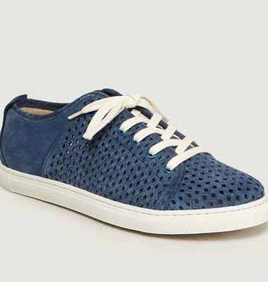 René Perforated Trainers